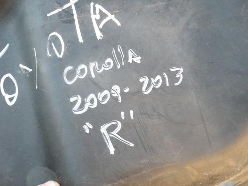 protector inf parach corolla 2011 der daño - lea descripcion