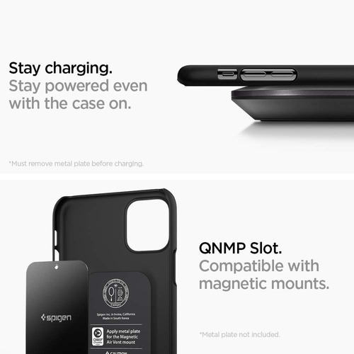 protector iphone 11 pro spigen thin fit