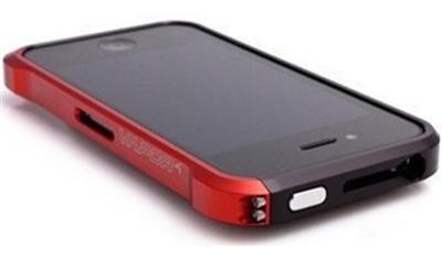 protector iphone 5 bumper de aluminio blade y vapor miralos