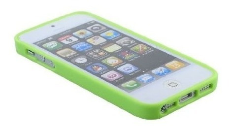 protector iphone 5 / se arcoiris funda multicolor