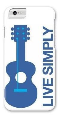 protector iphone 6/6s guitarra