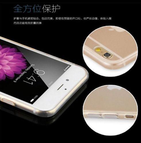 protector iphone 7- 7 plus ultra fino transparente + vidrio