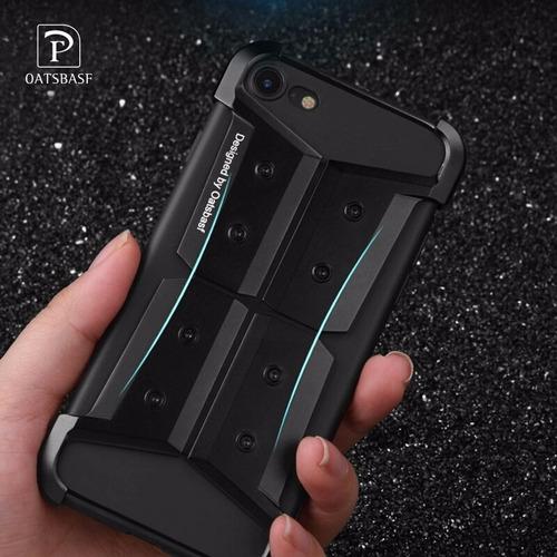 protector iphone 7 metalico 2 en 1 diseño resistente