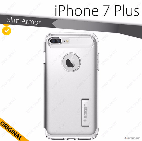 protector iphone 7 plus slim armor spigen original funda cas