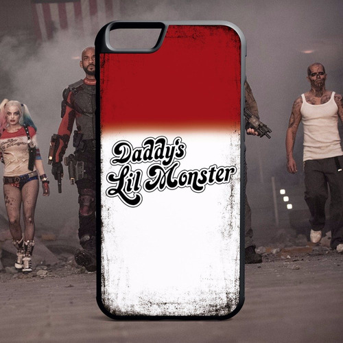 protector iphone - suicide squad - daddys lil monster