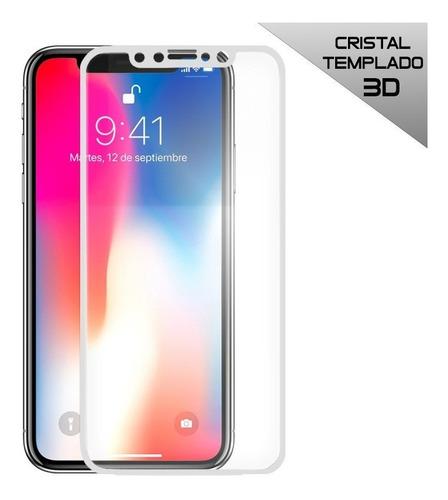 protector iphone x mica vidrio templado 3d - envios gratis