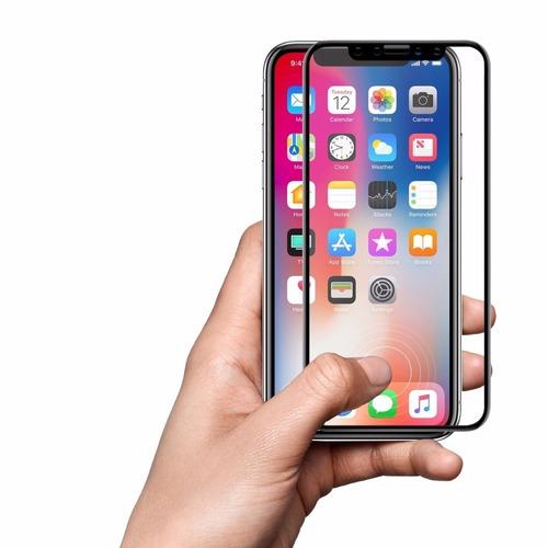 protector iphone x mica vidrio templado 3d - envios nacional
