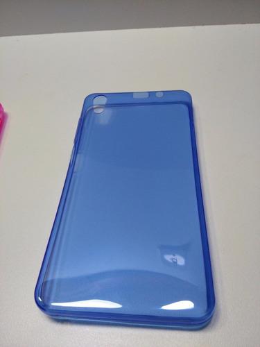 protector lenovo s850   silicona ultra slim transparente