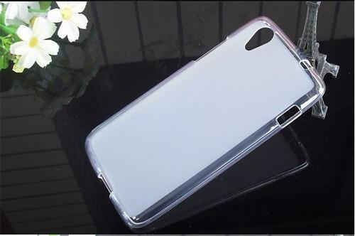protector lenovo s960 silicona de lujo + screen