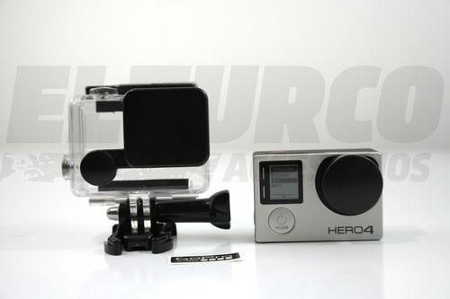 protector lente carcasa camara gopro hero 3+ y hero 4 -