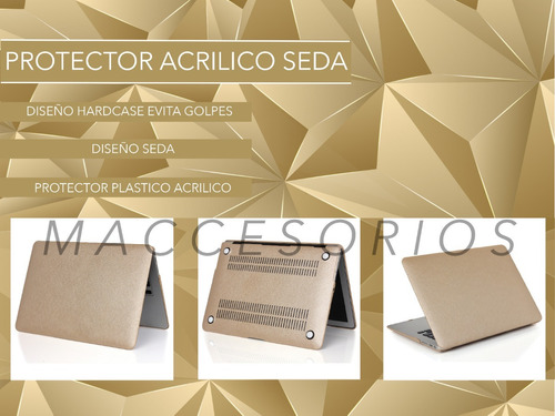protector macbook air pro gold champagne (2010 - 1016)