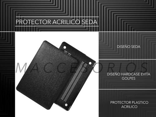 protector macbook suave al tacto air pro retina 12¨ 13¨ 15¨