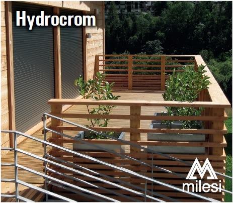 protector madera exterior lasur hydrocrom cedro 5 lts