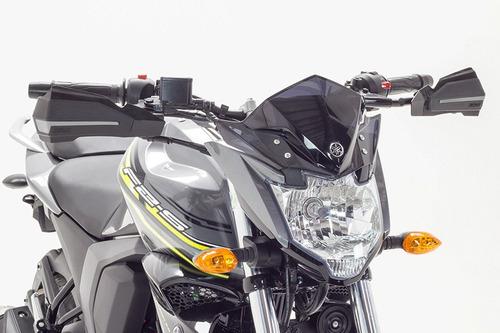 protector mano ghost negro-gris todas motos manubrio 7-8