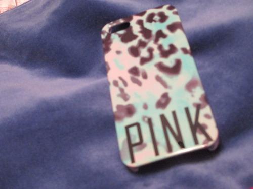 protector marca pink de victoria secret para  iphone 5