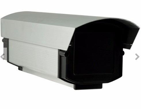 protector metálico para housing cámara exterior profesional