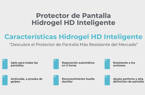 protector mica samsung hidrogel s20 note 10 s10 a70 a60 a50