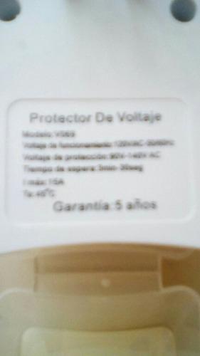 protector nevera y aire acondicionado  120 voltios