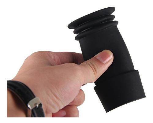 protector ocular tactico p/  mira telescopica cazeria rifle