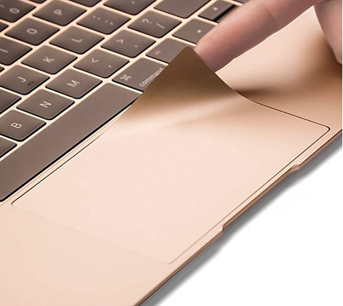 protector palmguard trackpad macbook oro