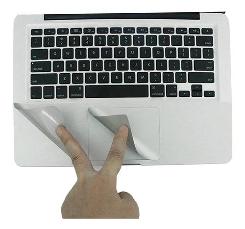 protector palmguard trackpad macbook todos los modelos plata
