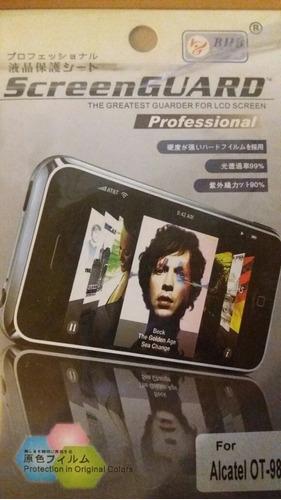 protector pantalla alcatel ot-983