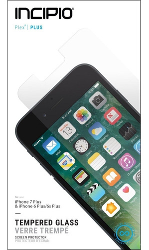 protector pantalla incipio impact shield iphone 6/7/8 plus