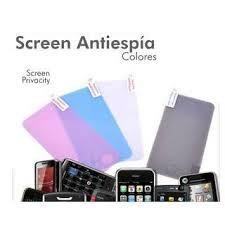 311cc9a7521 Protector Pantalla iPhone 4 Antiespia Blanco - $ 4.900 en Mercado Libre