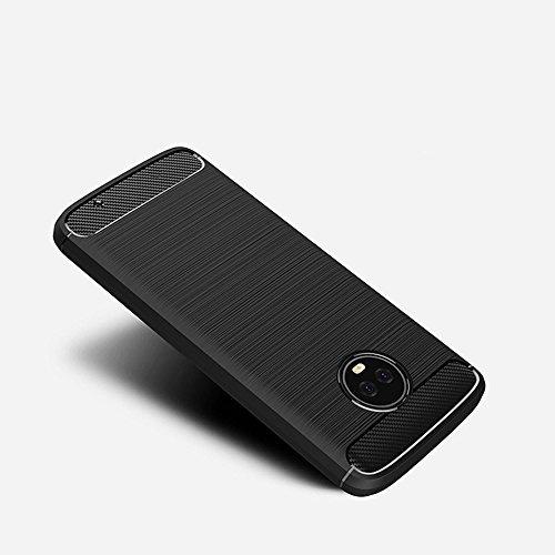 protector pantalla moto g6 negro smartphone vidrio templado