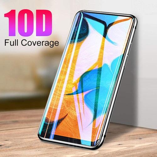 protector pantalla samsung a20 a30 a50 vidrio full pega 10d