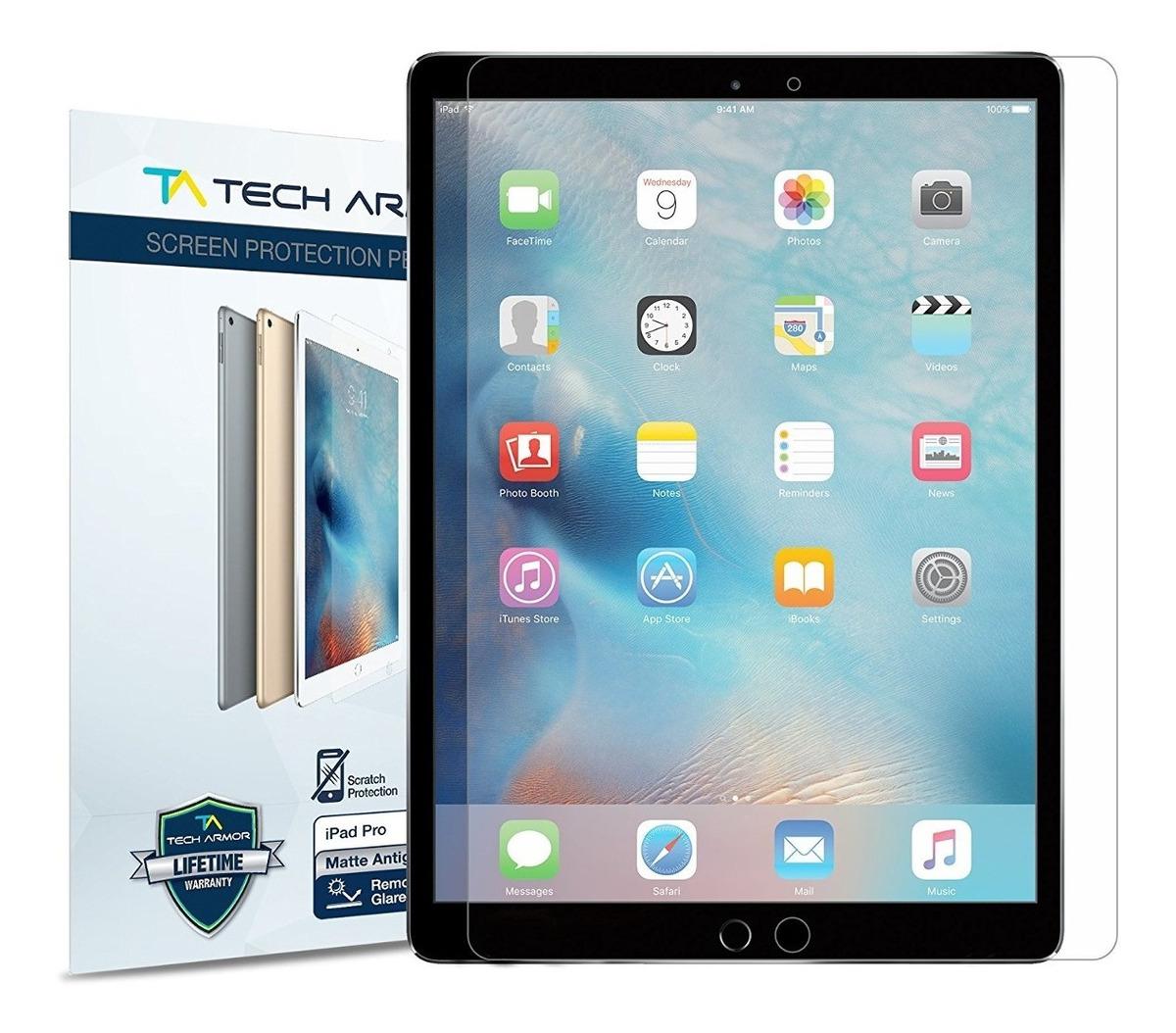 """1 Armadura de tecnología anti-reflejos de vidrio protector de pantalla para el nuevo iPad Pack Pro 12.9/"""" 2018"""