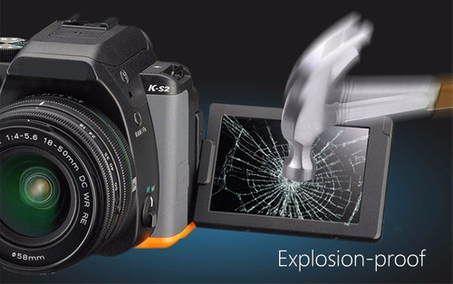 protector pantalla vidrio canon 5d mark iv iii / 5ds / 5dsr