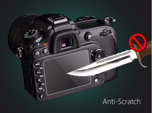 protector pantalla vidrio canon 70d / 80d / sl1