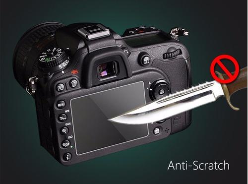 protector pantalla vidrio nikon d5100/ d5200 / d5300 / d5500