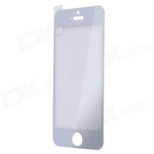 protector pantalla vidrio templdo color plateado iphone 4s