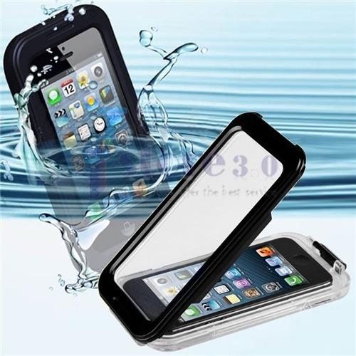 protector para agua iphone estuche waterproof iphone 5 5s se