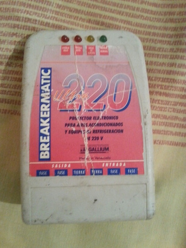 protector para aire acondicionado luz 220 v.