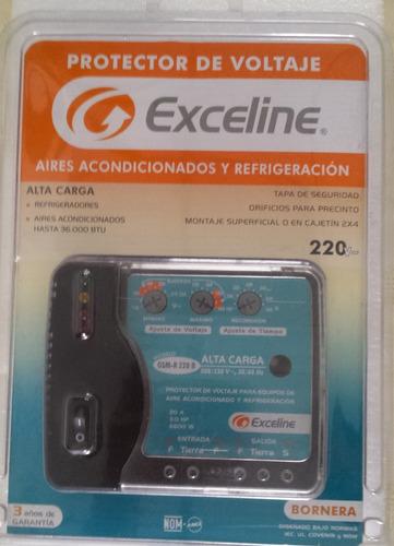 protector para aires acondicionados 220v marca exceline