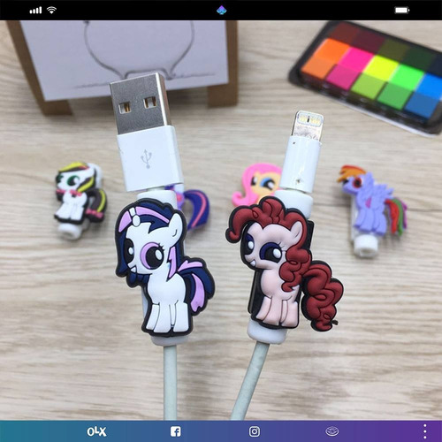 protector para cable my little pony