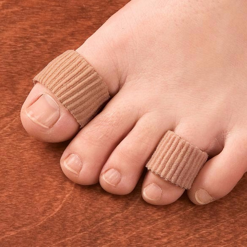 protector para dedos de gel cobertura suave zapato calzado