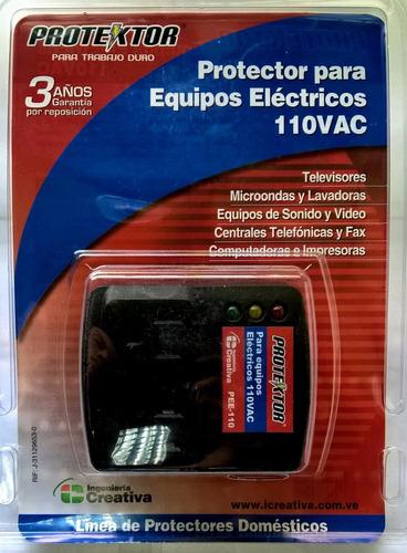protector para equipos electronicos 110v