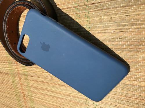 protector para iphone 7 plus en color azul