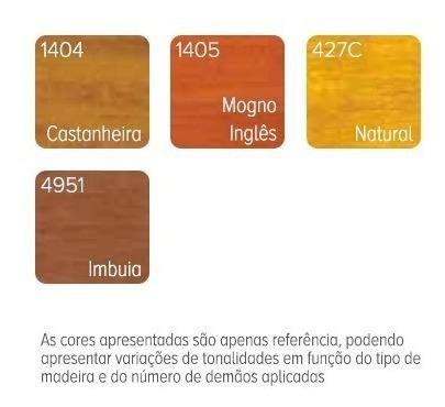 protector para madera sayerlack al agua 3.6 lts. colores.
