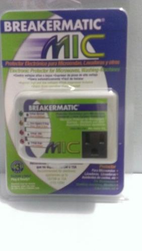 protector para microondas, lavadoras, etc breakermatic