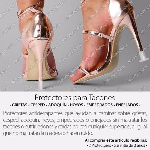protector para zapatillas antiderrapante tapón punta tacón