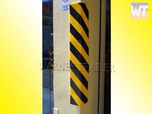 protector plegable de goma p/ pared ideal estacionamiento