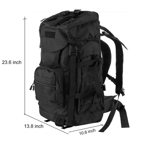 protector plus 55l travel mochila daypack y e + envio gratis