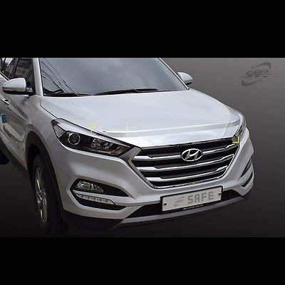 Chrome Front Bonnet guard protector for Hyundai All new Tucson TL 2016~2017+
