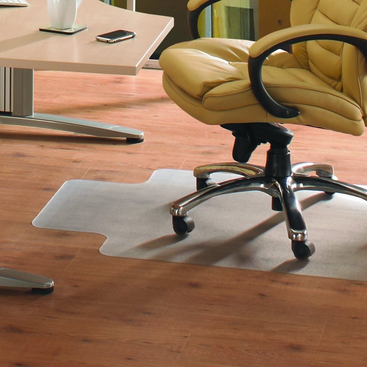 Protector P V C Bajo Escritorio Para Pisos Muebles Y Cosas 990  # Muebles Y Cosas