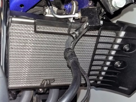 protector radiador inox yamaha mt03 motoperimetro en mf